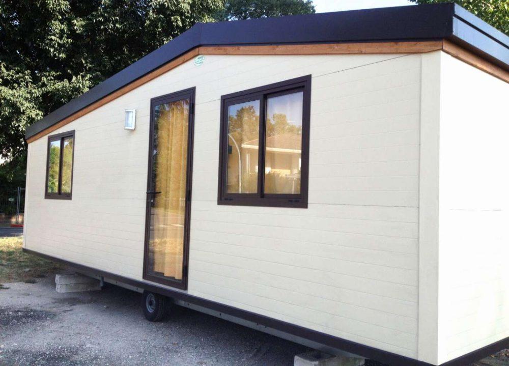 Casa mobile modello line, prefabbricato, casa su ruote