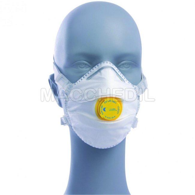 Mascherine FFP3 per amianto