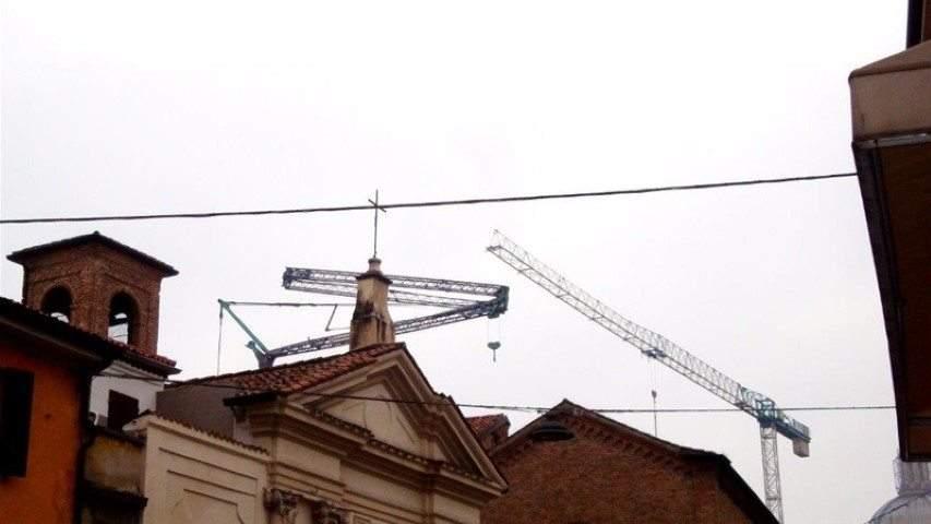 Cantiere Palazzo Canossa - Mantova | Macchedil Online Store