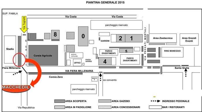 FIERA MILLENARIA DI GONZAGA 2015 - MANTOVA | Macchedil Online Store