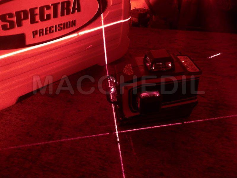 Lt56 laser spektra visto con gli occhiali forniti