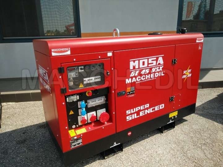 Gruppo elettrogeno usato mosa ge45ysx anno 2017 macchedil for Generatore di corrente diesel usato