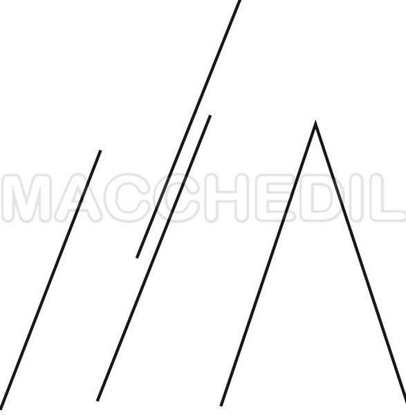 Schema posizione scala tipo B