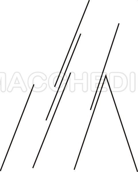 schema posizioni scale di tipo C