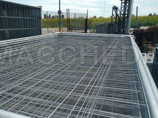 Recinzione Per Cantiere Reti Metalliche Provvisorie Macchedil