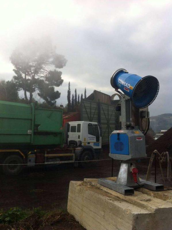 Impianto abbattimento polveri installato a Sanremo (IM) | Macchedil Online Store