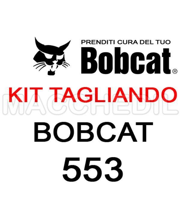 KIT TAGLIANDO BOBCAT 553 MACCHEDIL| Macchedil Online Store
