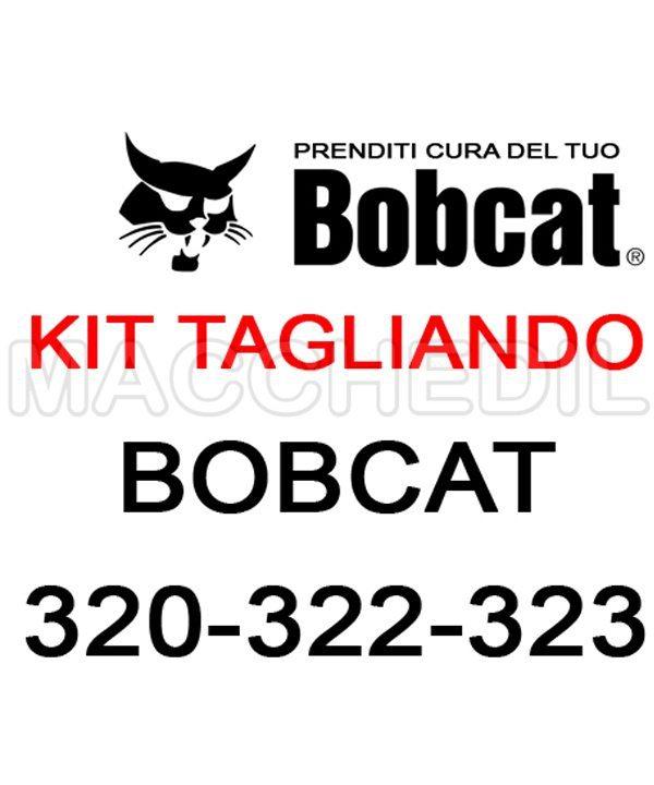 macchedil kit filtri tagliando bobcat