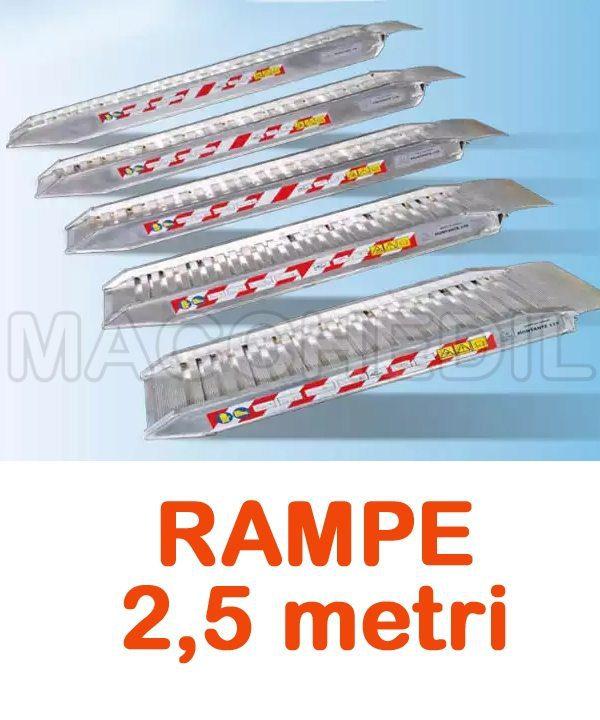 Rampe Di Carico 2 50 Mt Per Macchine Edili Macchedil