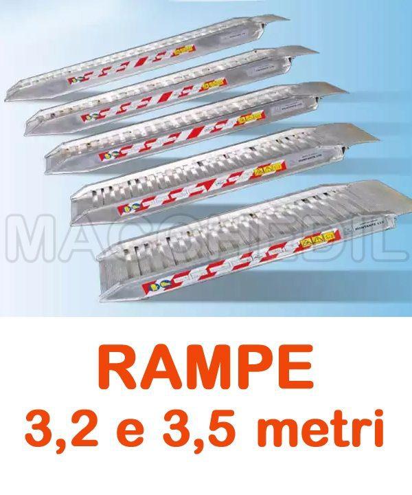 rampe di carico in alluminio