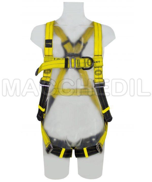 imbracatura idrorepellente per lavori ad alta quota irudek hydro 2