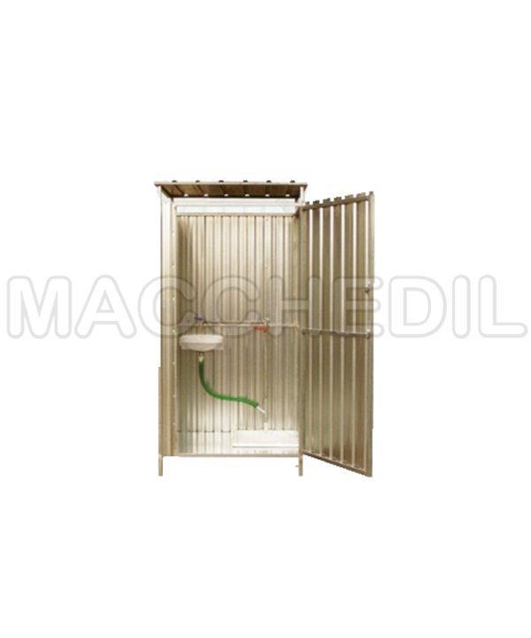 home bagni chimici box bagno in lamiera zincata