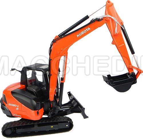 modellino escavatore kx80 in vendita