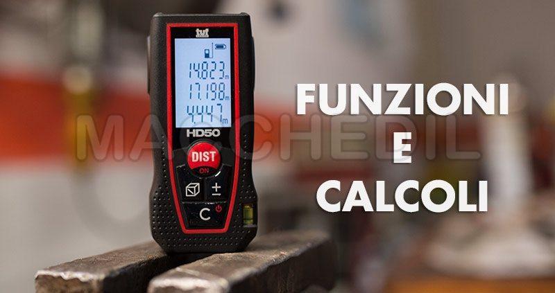 Funzioni e calcoli misuratore Hd 50