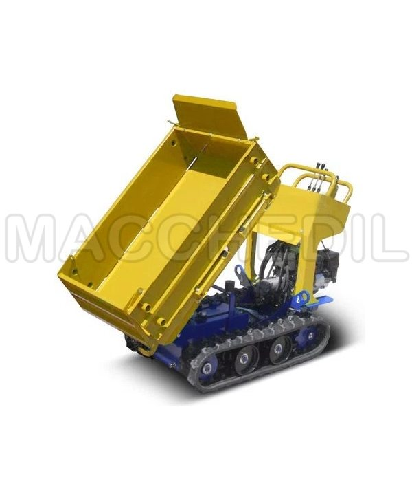 motocarriola a cassone ribaltabile batmatic gialla