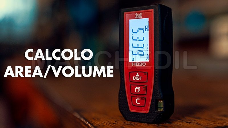 Calcolo area e volume misuratore HD30 tuf