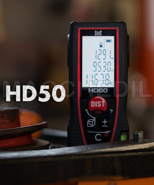 Metro laser HD50 tuf, misuratore laser