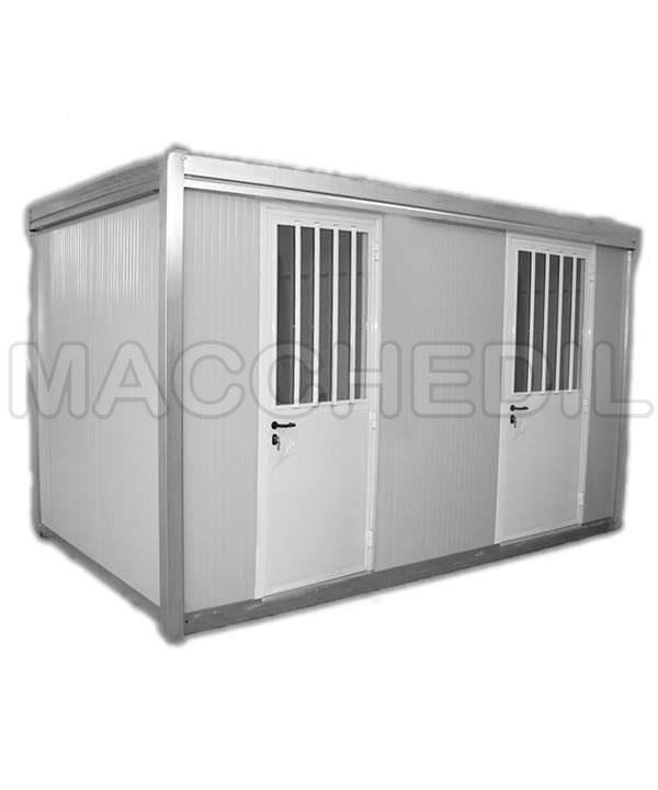 cabina di decontaminazione prefabbricata