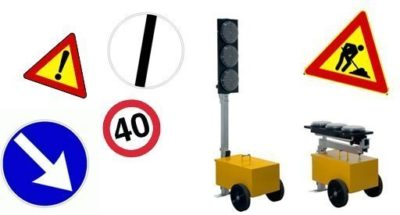 noleggio segnaletica cantiere